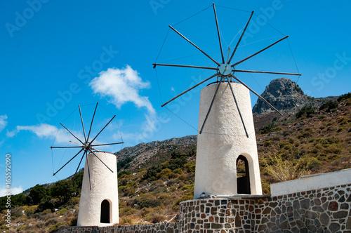 Cretan Windmills Poster