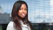 African businesswoman portrait - 165597856