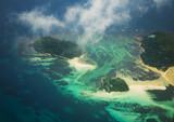 Seychelles from the airplane - 165597821