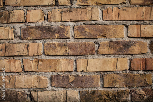 In de dag Brick wall background