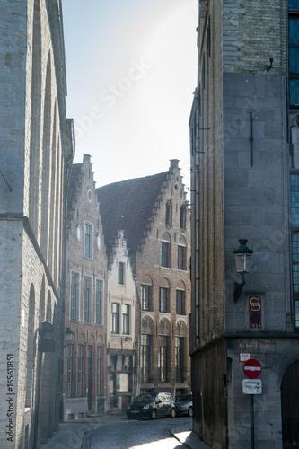 Street view in Brugge, Belgium