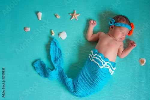 Newborn mermaid's dream Poster