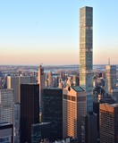 The 432 Park skyscraper in midtown Manhattan, the tallest residential building in the United States.