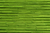 Fototapeta Sypialnia - Green bamboo fence background and texture © ohishiftl