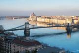 Budapeszt z Parlamentem, Most Łańcuchowy i Wyspa Małgorzaty