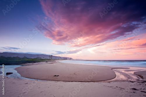 Staande foto Aubergine Woonona Beach