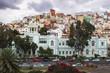 Quadro Colorful architecture of Barrio San Juan in Las Palmas