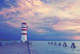 Leuchtturm am See