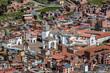 Quadro City of Copacabana at lake Titicaca, Bolivia