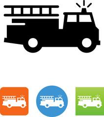 Firetruck Icon -  Illustration