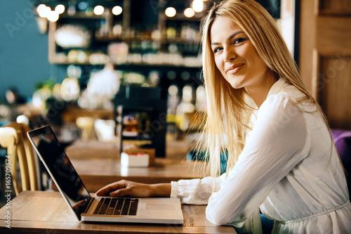 Freelance job in coffee shop