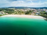 Canelas beach in the Rias Baixas in Pontevedra