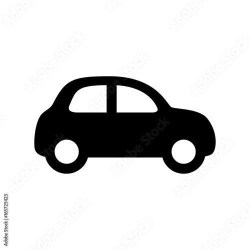 Fotobehang Auto Car icon