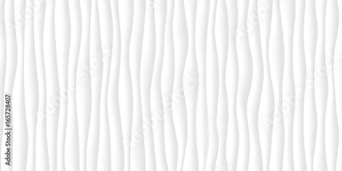 White texture. gray abstract pattern seamless. wave wavy nature geometric modern. - 165728407