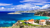 Creek holidays. Scenic landscapes of beautiful Crete island. Kalyves. - 165729012