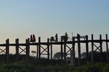 U Bein Bridge daily life