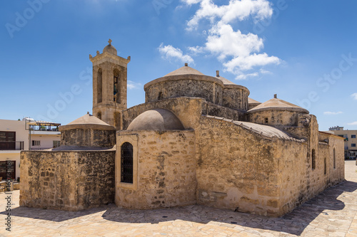 Canvas Cyprus The Geroskipou glorious Byzantine Church - Agia Paraskevi, Cyprus