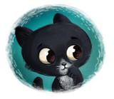 cara de gato negro