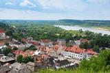 Widok z Góry Trzech Krzyży na Kazimierz Dolny, Polska