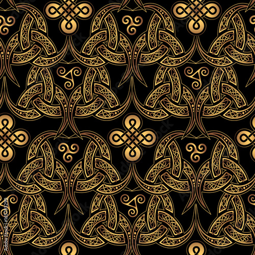 Nordic Celtic pattern © yuliana_s