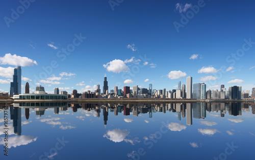 Chicago City and Michigan Lake, Chicago, Illinois, USA © tam