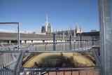 Milano vista del Duoma dall'alto della galleria