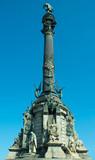 column of columbus, barcelona