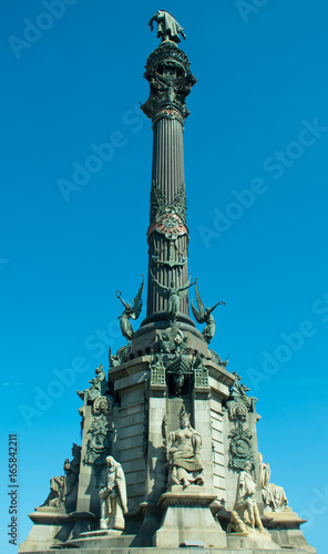 column of columbus, barcelona