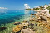 Wspaniały krajobraz Bristu w Chorwacji - 165858880