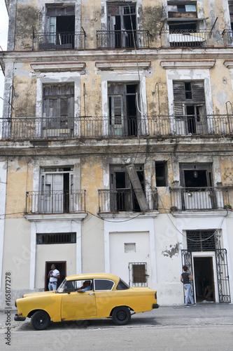Spoed canvasdoek 2cm dik Havana Kuba