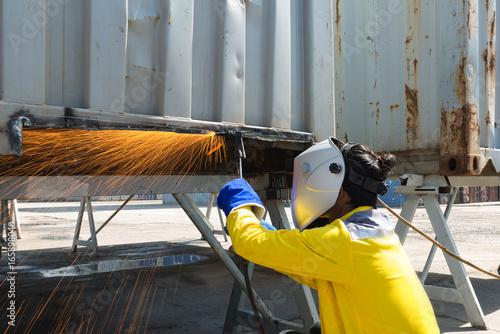 Advanced welder repair