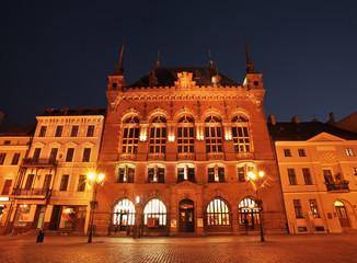 Artus Court (Dwor Artusa) at Market square in Torun. Poland
