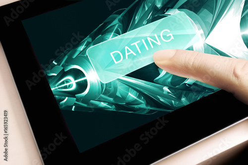 Dating Onlinedating Tablet PC Touchscreen Finger © Max40547