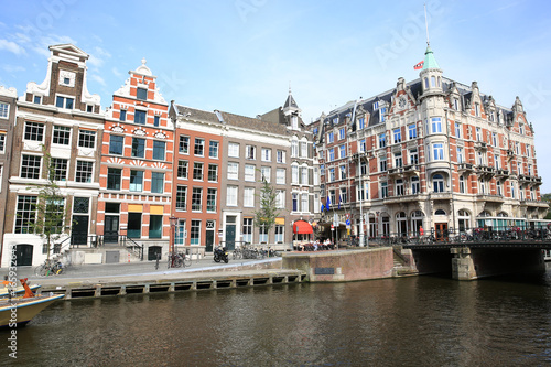 Scenic Amsterdam in The Netherlands