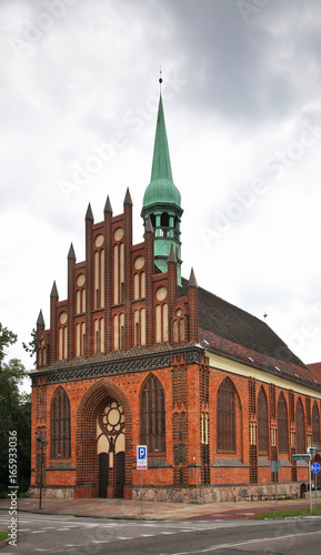 Church of Sts. Peter and Paul in Szczecin. Poland