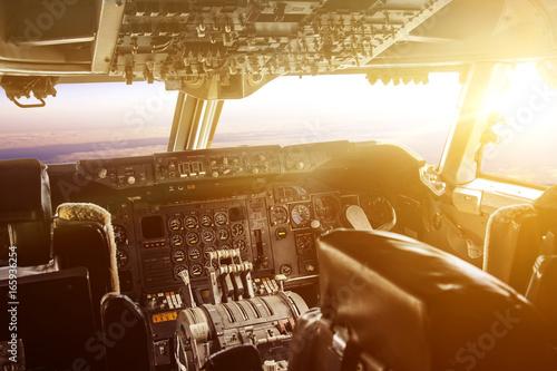 Foto op Plexiglas Bruin plane