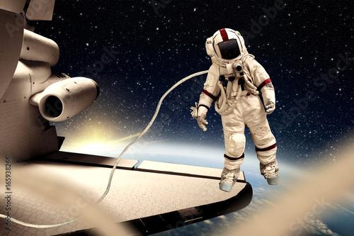 Fotobehang Nasa spaceman