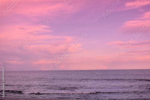 Aluminium Candy roze Sunset in majestic colors vacation time