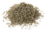 Dried Lavender Herb Isolated