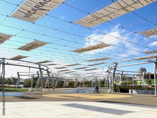 Site exposition universelle à Saragosse