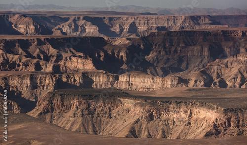Papiers peints Cappuccino Fish river canyon southern Namibia