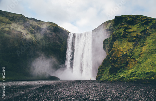 Skogafoss, Iceland - 166021641