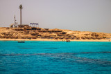 summer beach and Red Sea in Egypt - 166028642