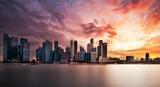 Singapour au crépuscule - 166029410