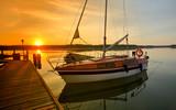 wschód słońca na Mazurach - 166060439