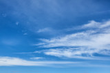 Abstract nature blue sky background