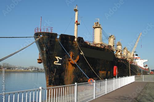 Keuken foto achterwand Antwerpen tanker tankschiff schelde
