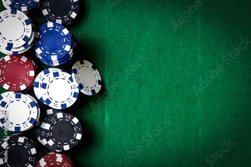 casino chips плакат