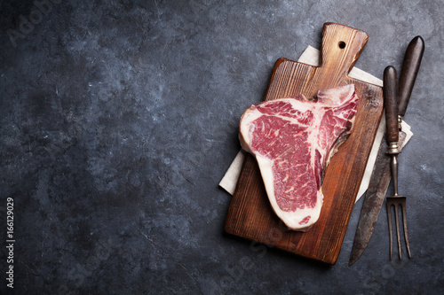 T-bone steak Poster