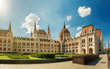 Hungarian parliament building - 166144032